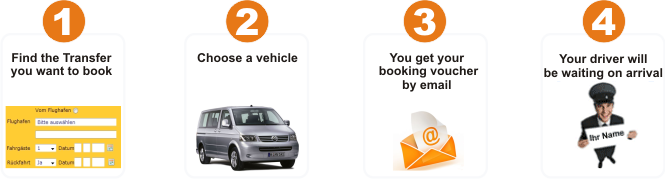 how to book a airport transfer